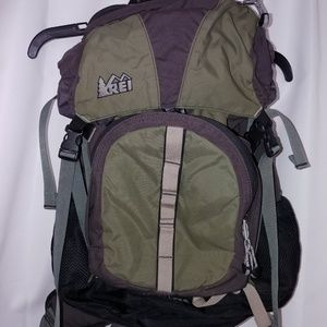 REI Half Dome Backpack Green And Black